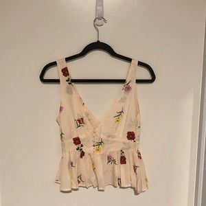 NWT - Floral Tank Top